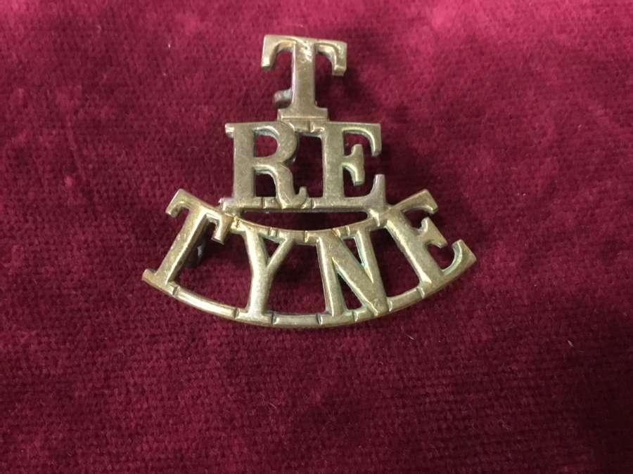 Royal Engineers Tyne Shoulder Title