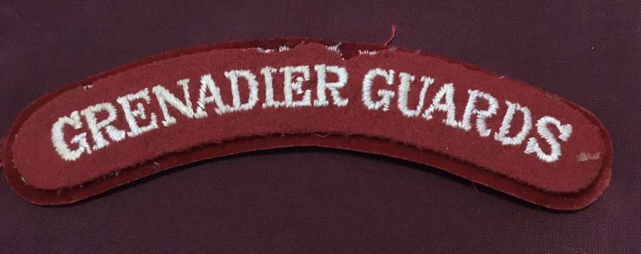 Grenadier Guards Shoulder Title