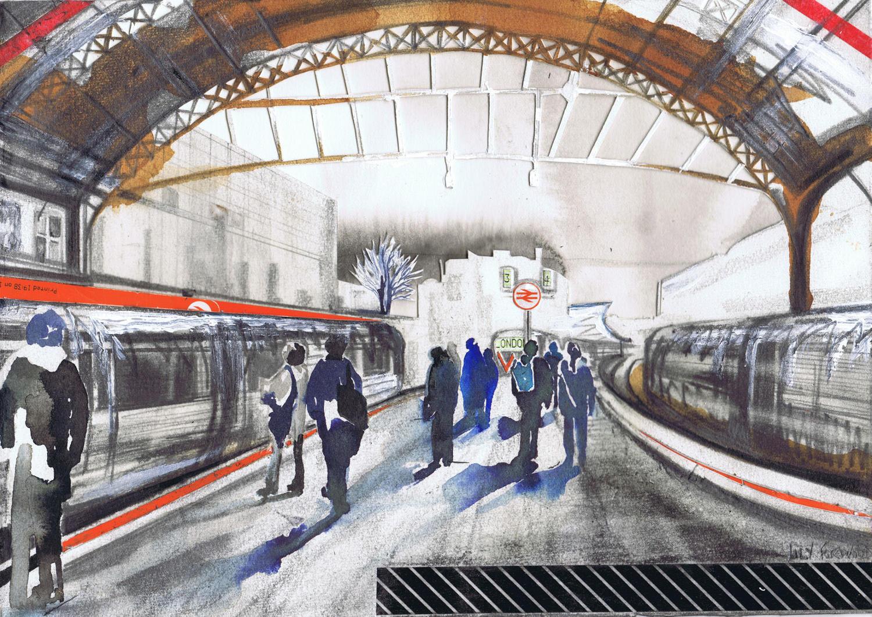 Victoria Station I