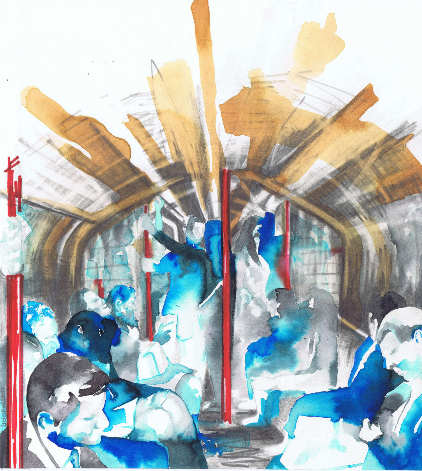 The Central Line, Sketch