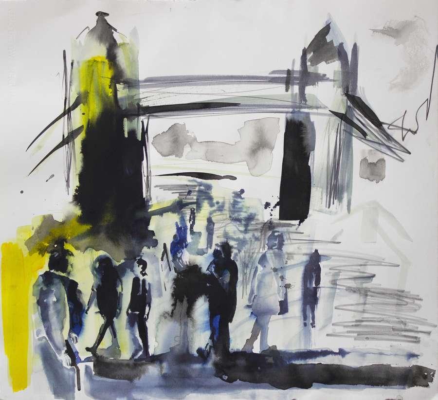 Tower Bridge Sketch