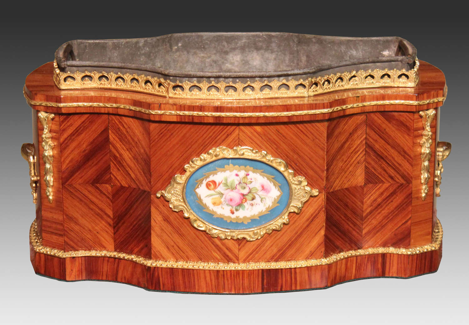 A Fine Victorian Kingwood and Ormolu mounted Table Top Jardiniere