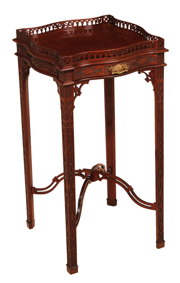 A Quality Edwardian Chippendale Style Kettle Stand