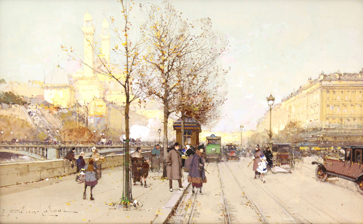 Eugene Galien-Laloue (1854-1941) An Exceptional Watercolour & Gouache