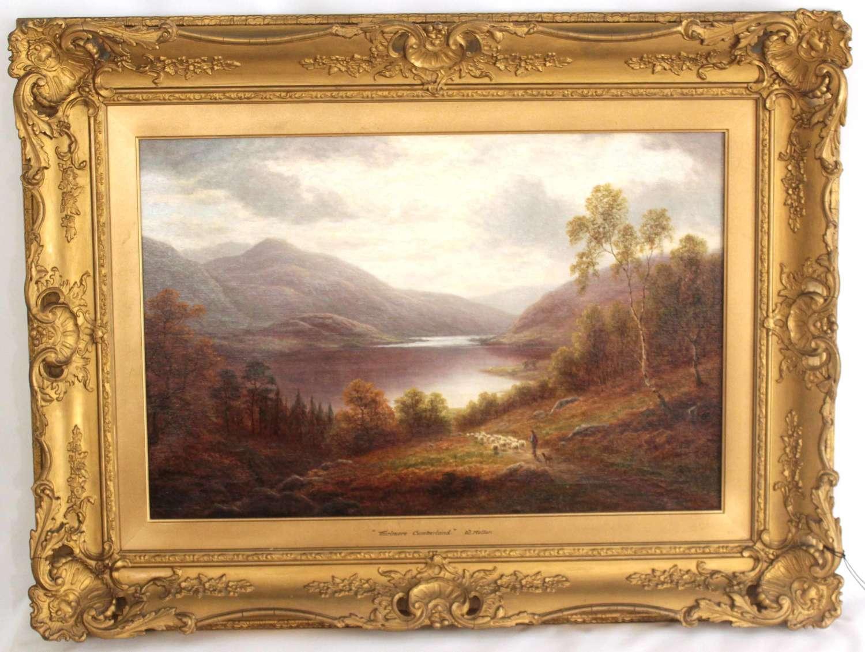William Mellor (1851-1931) Oil on Canvas