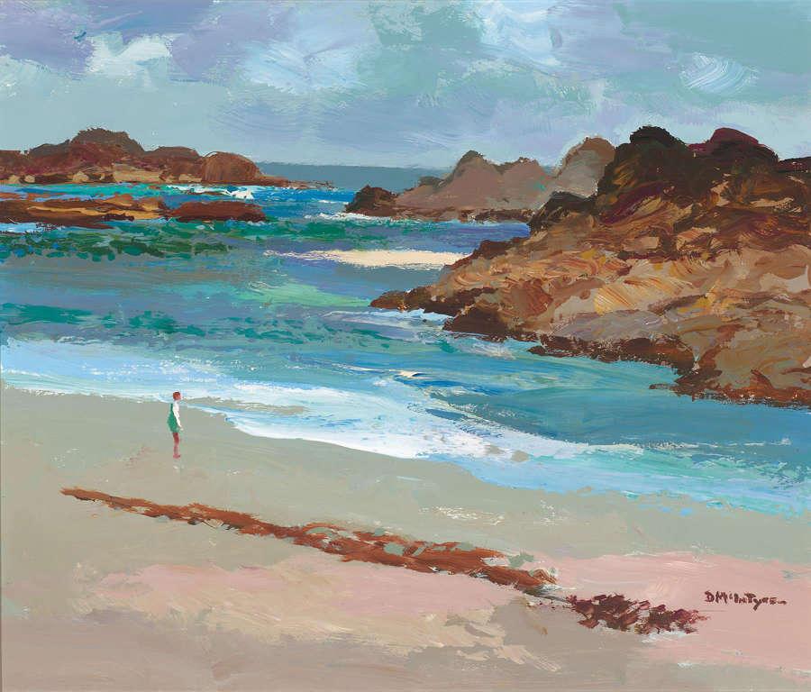 Donald McIntyre (1923 – 2009) Acrylic on Board