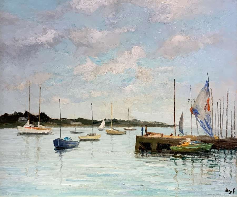 Marcel Dyf (1899 – 1985) Oil on Canvas