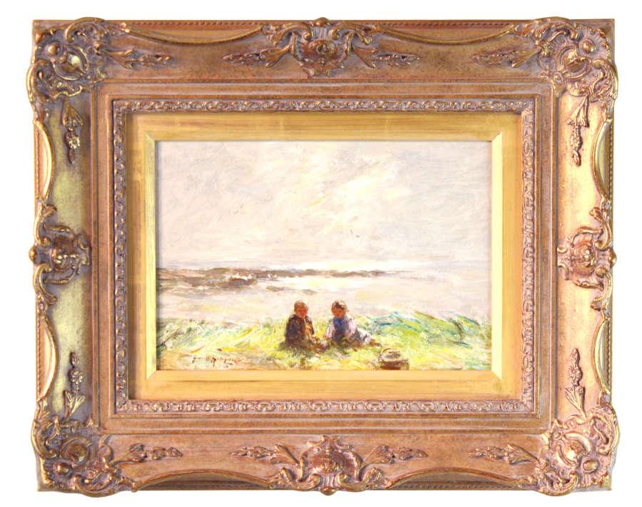 ROBERT GEMMELL HUTCHISON (1855-1936) Oil on Canvas