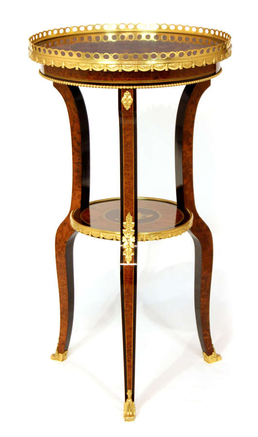 A French Edwards & Roberts style Walnut Occasional Table