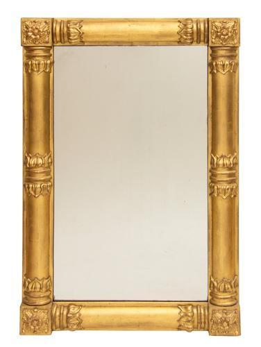 An Irish 1840's gilded mirror