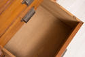 Vintage large bank of oak drawers - picture 4