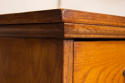 Vintage large bank of oak drawers - picture 6