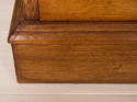 Vintage large bank of oak drawers - picture 7