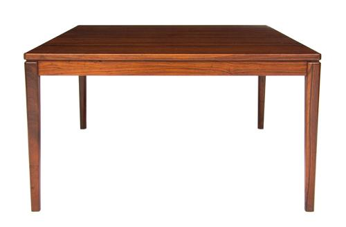 A Danish 1960,s rosewood coffee table