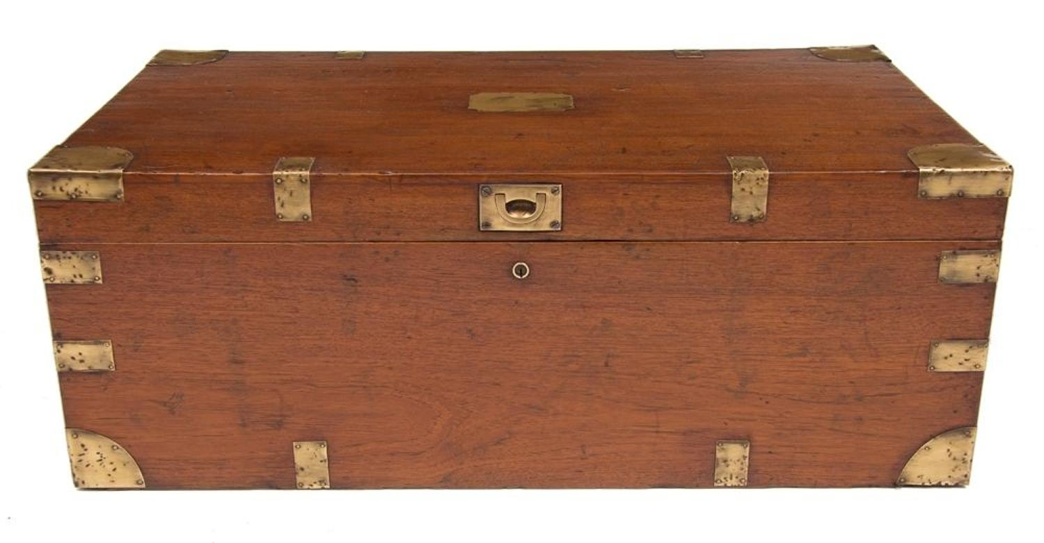 19th C military campaign chest