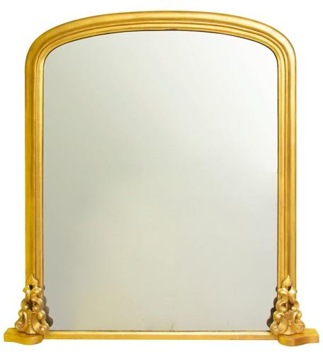 A Victorian Overmantle Mirror