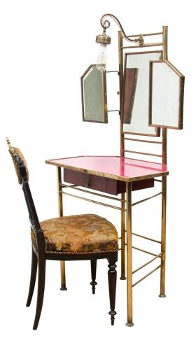 Vintage French Dressing Table and Chair c.1920