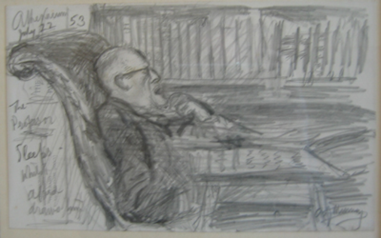 Sir Alfred Munnings.
