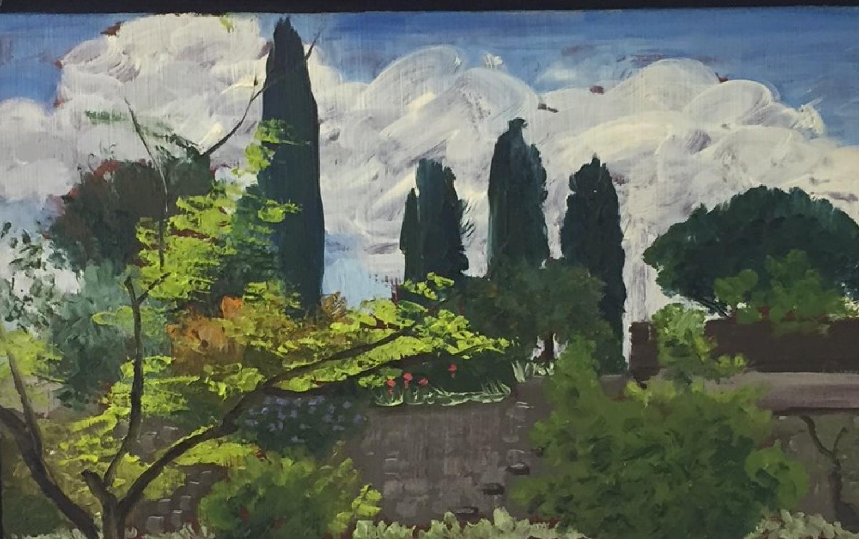 Terraced Garden, Chateau de San Peyre