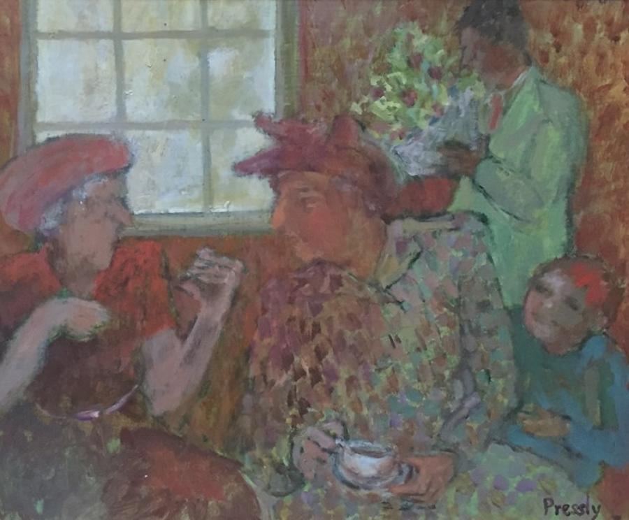 Teatime Visit
