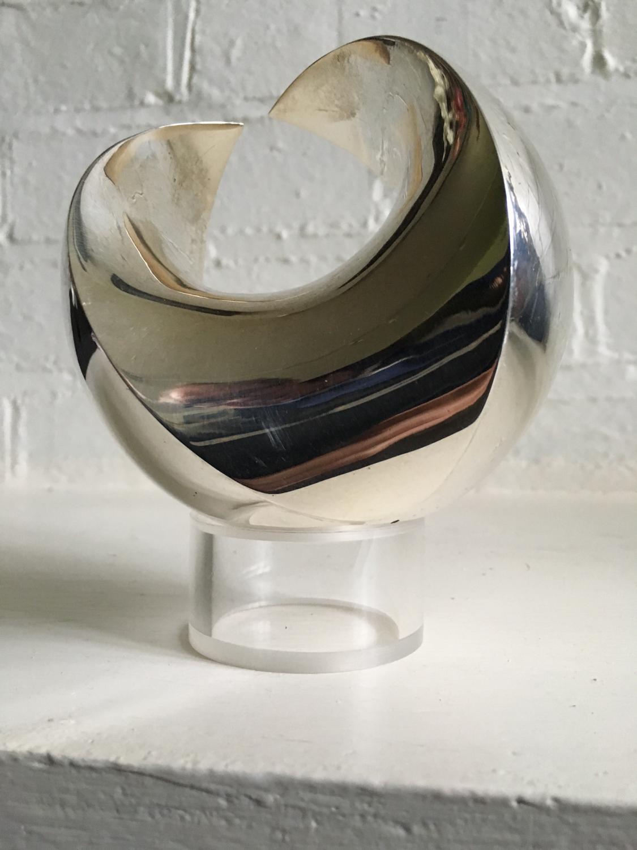 Silver 4D Sphere