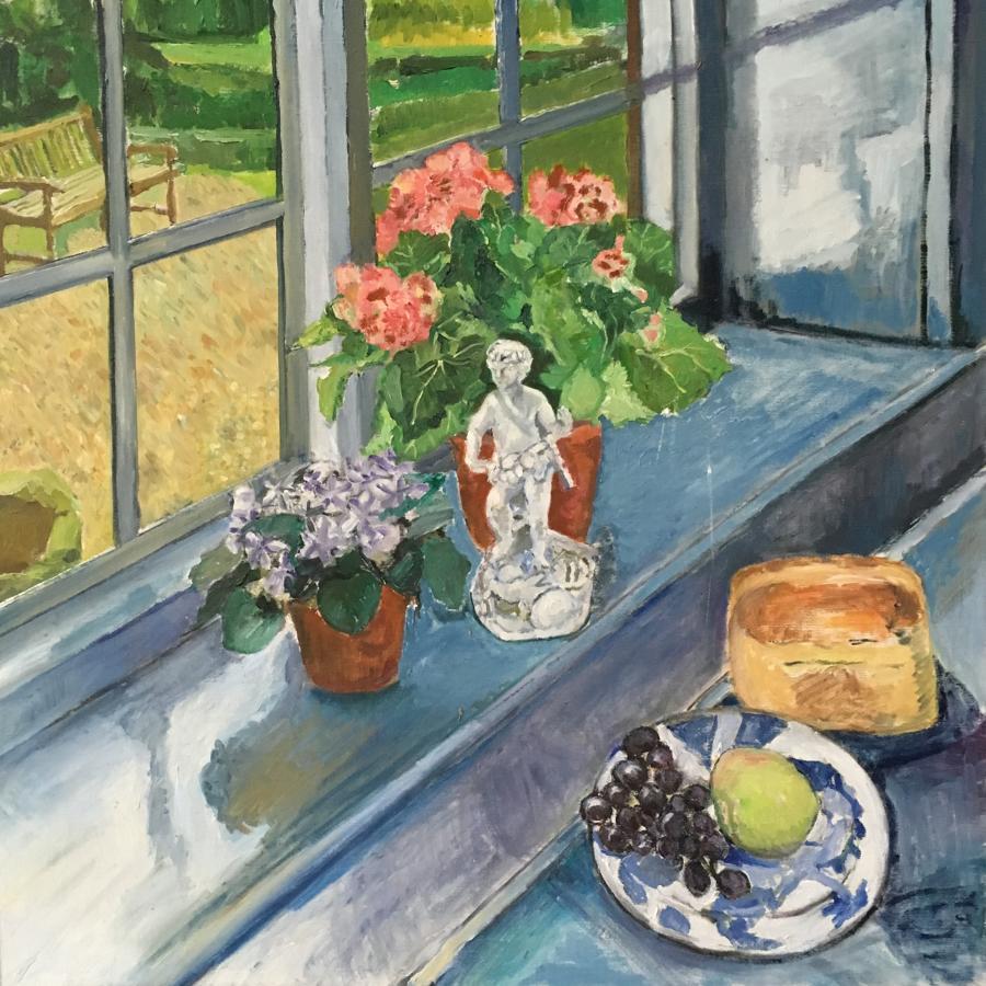 Figure on a Window Sill by Nicolas Gage