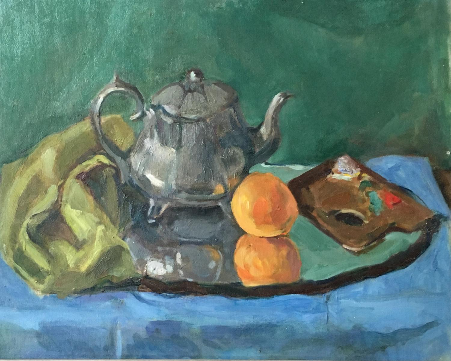 The Silver Teapot by Nicolas Gage