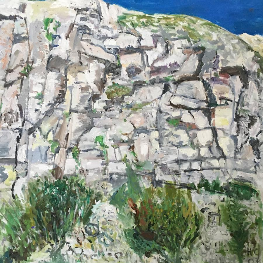 Cliffs at Seaford by Nicolas Gage