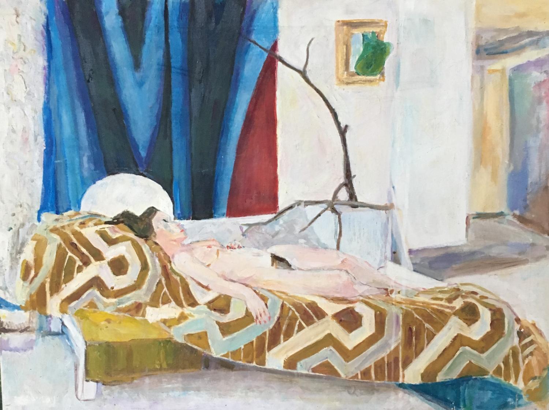 Reclining Nude by Nicolas Gage