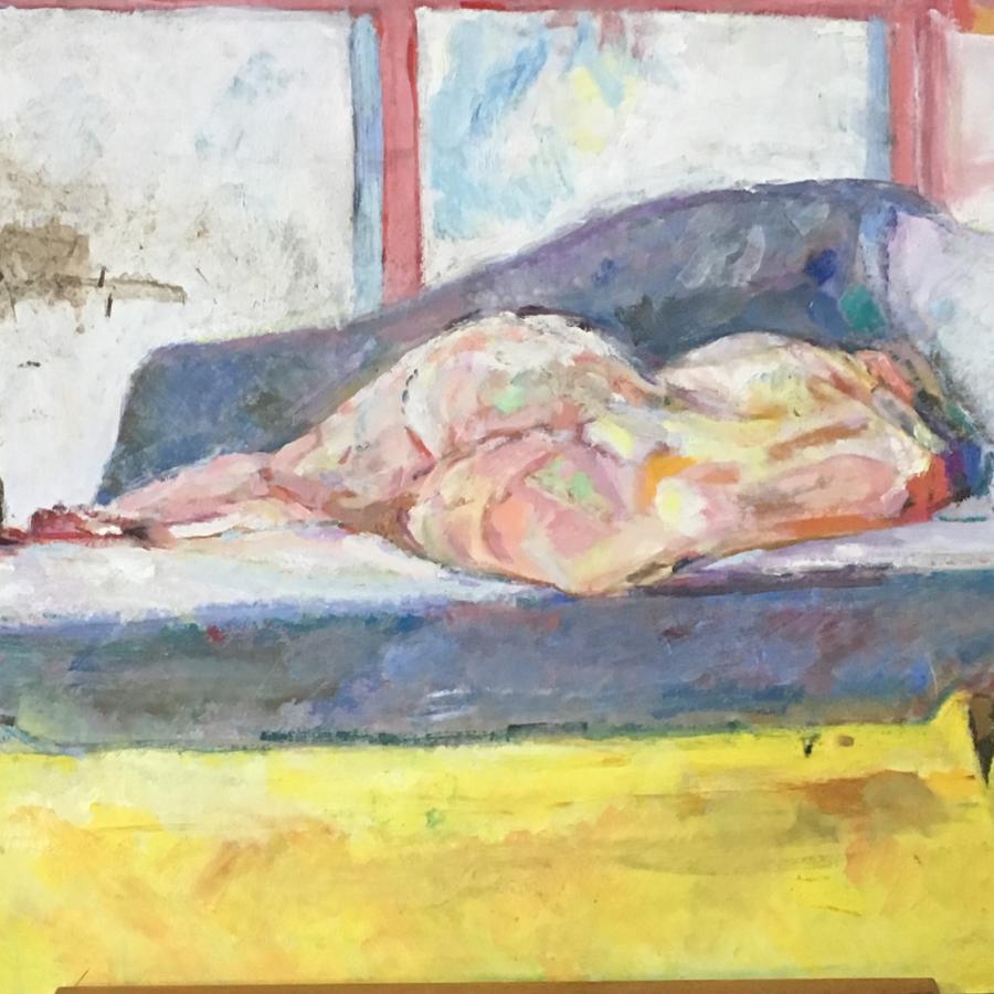 Nude study by Nicolas Gage