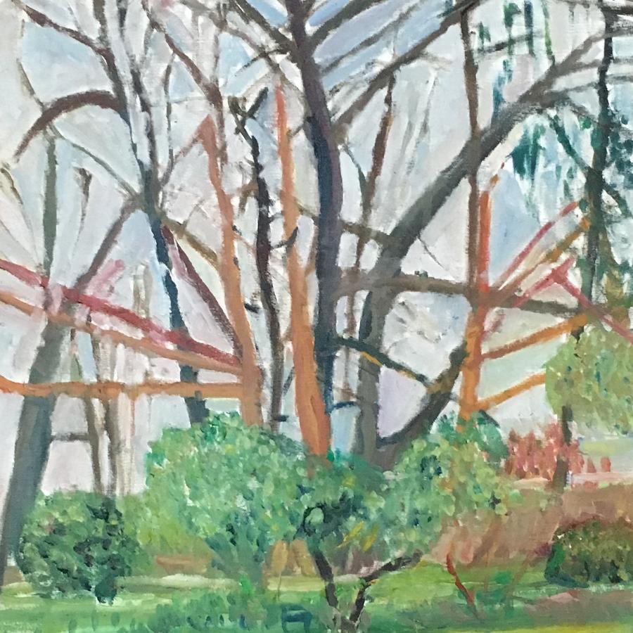 Winter Trees by Nicolas Gage