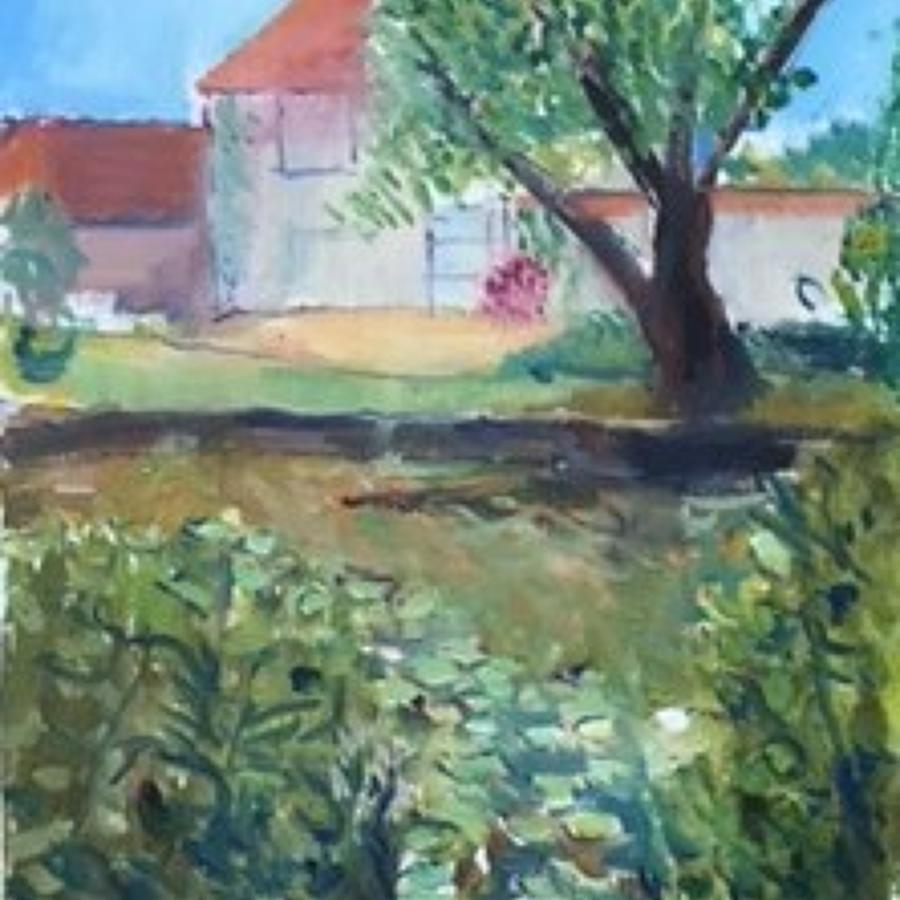The Barn at Charleston by Nicolas Gage