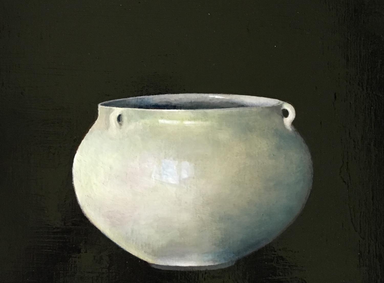 Judith Kuehne - 'Green Moon Jar'.