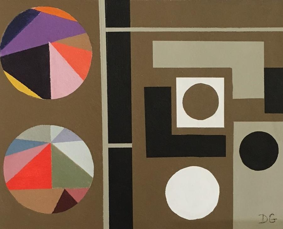 Donna Gray.Rubik Pyramid.