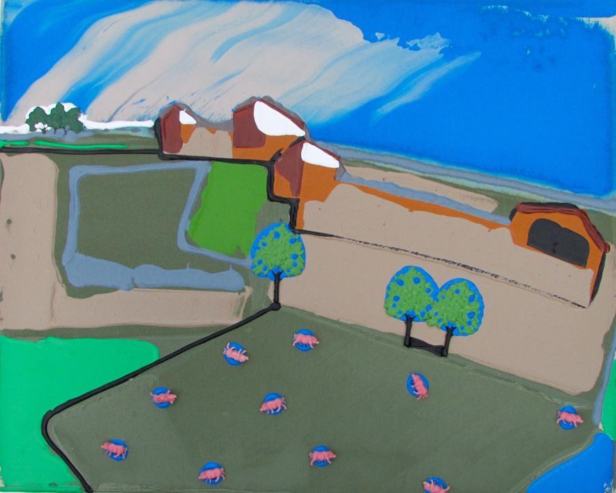 Jamie Andrews. Pig Farm.