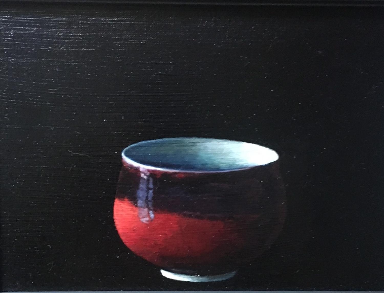 Judith Kuehne. Spotlight on red.