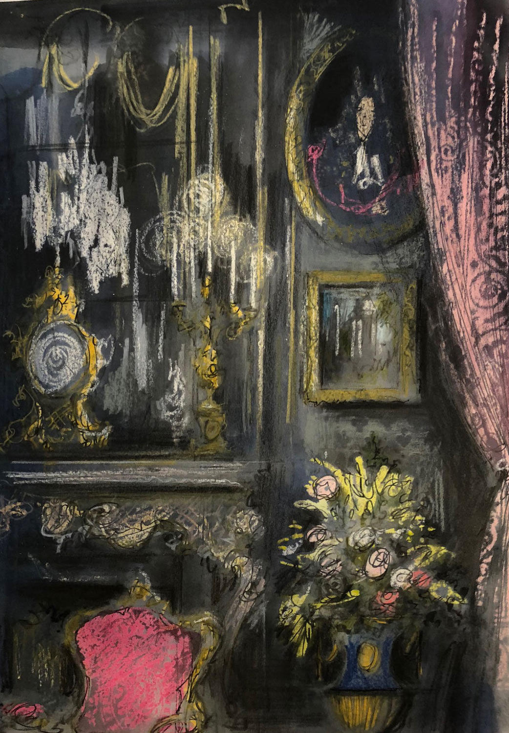 TrevorNewton- Candlelit French Interior