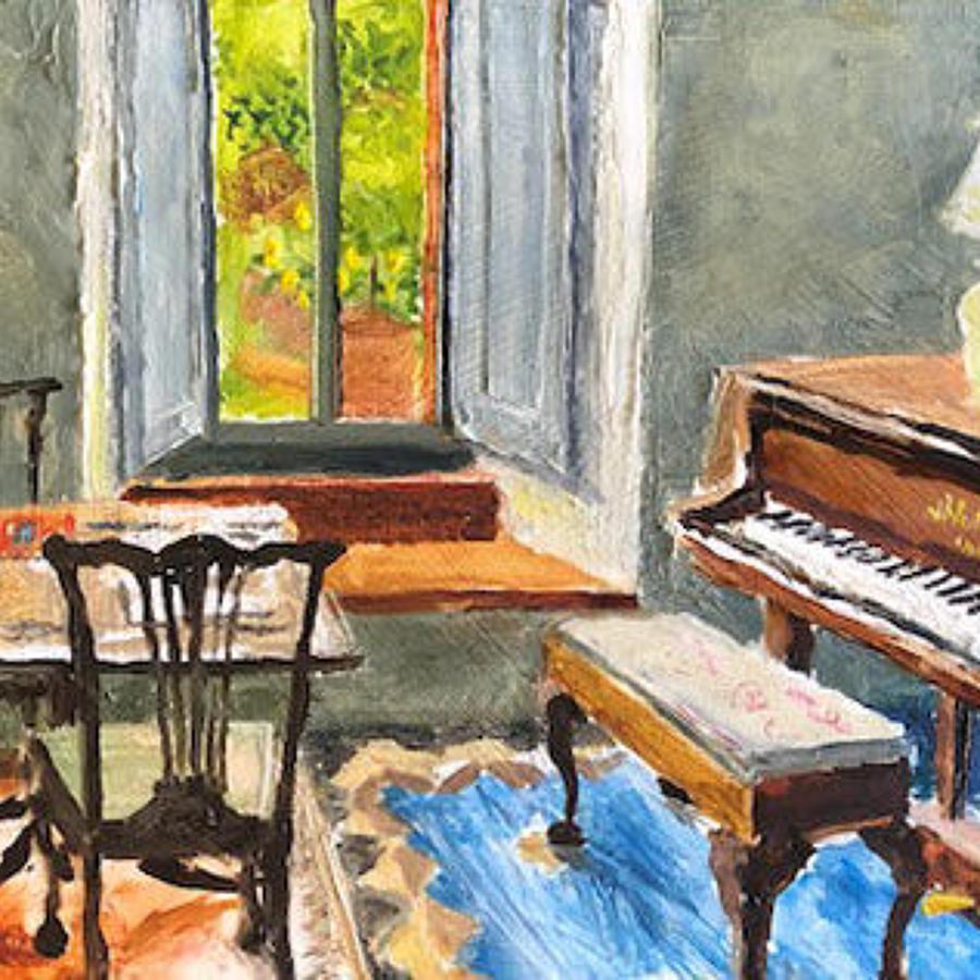 Alex Uxbridge - Music Room, Italy