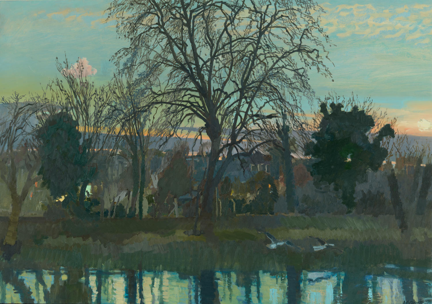 David Parfitt. February Twilight.