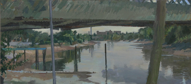 David Parfitt.  Grey June Morning.