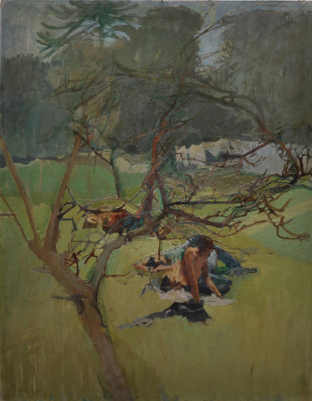 David Parfitt. Tree and Figures.