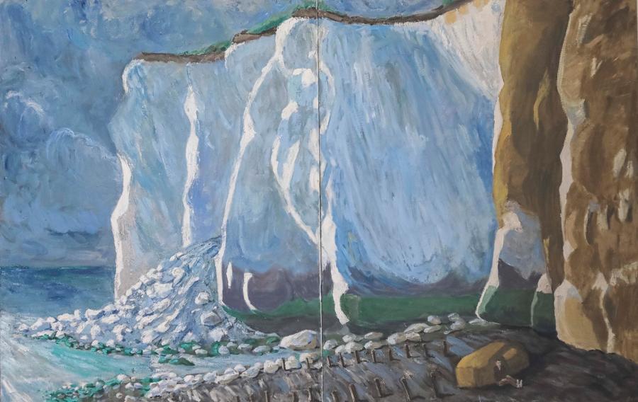 Nick Bush. Cliffs at Newhaven.