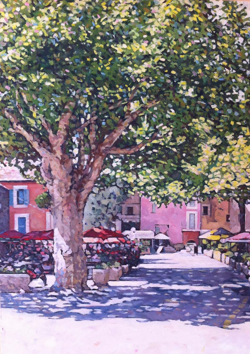Ben Grace. A French square.