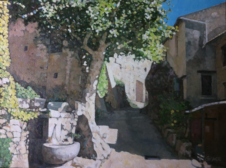 Ben Grace. A French Village.