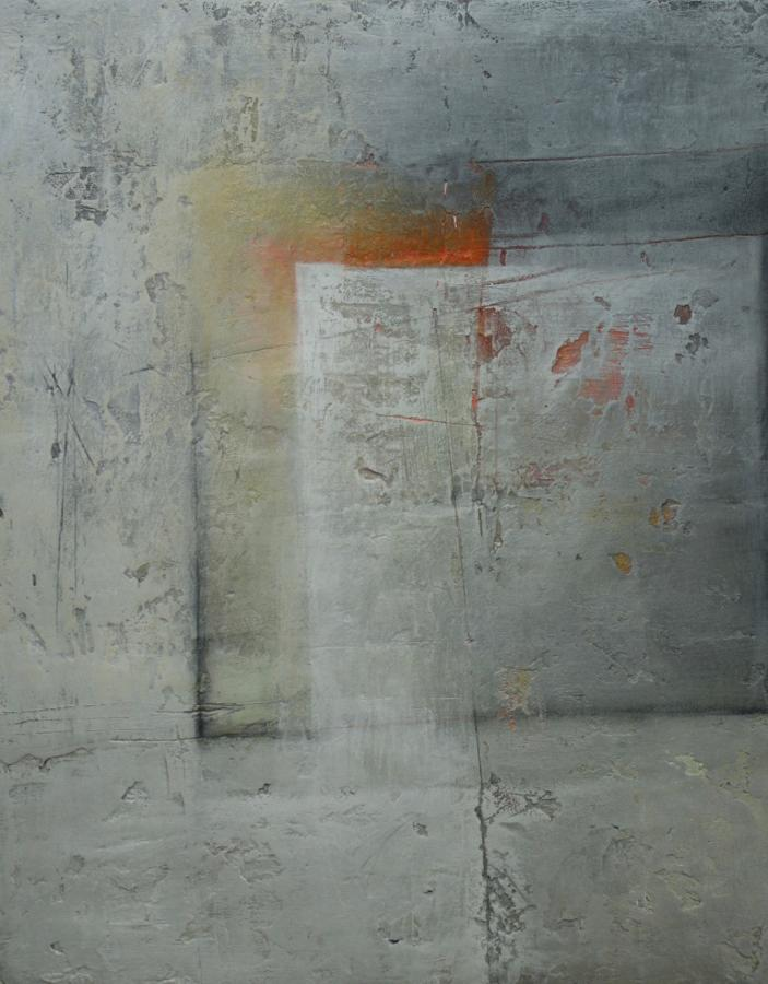 Michele Griffiths. Square into rectangle goes orange.