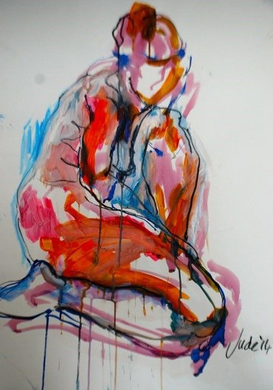 Judith Brenner. Female nude 2