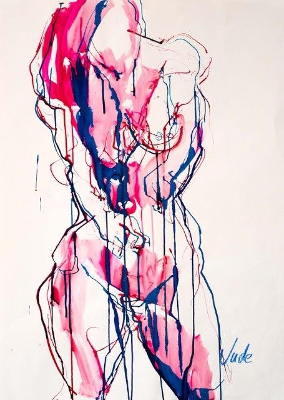 Judith Brenner. Female Nude 4.