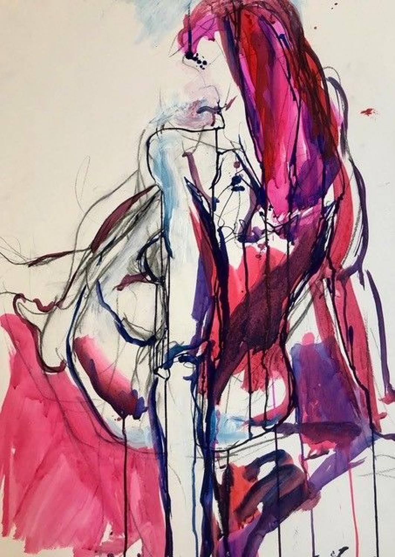 Judith Brenner. Female Nude 6.