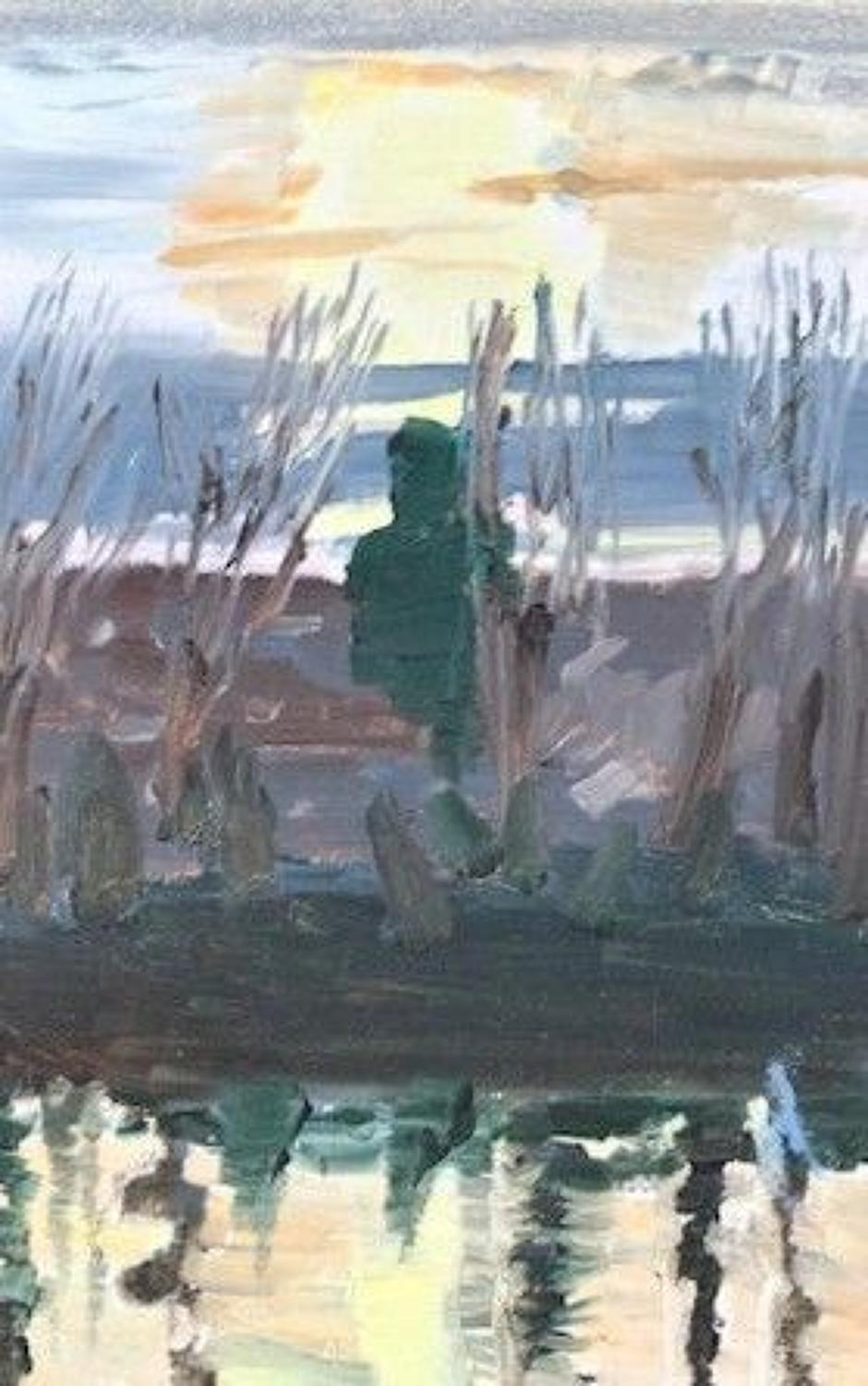 David parfitt. NEAC. Winter Sunset.