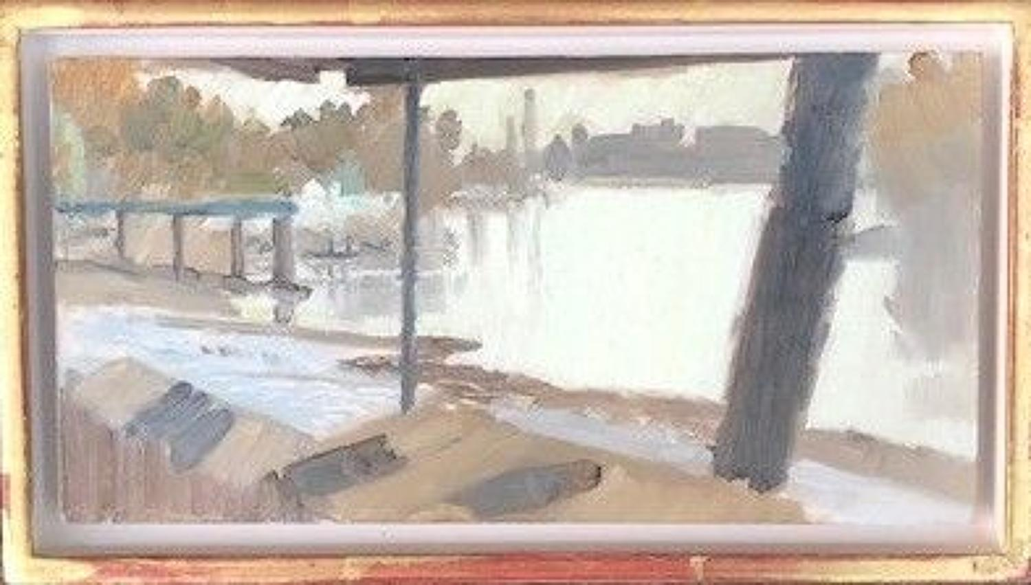 David parfitt. NEAC, Autumn Thames.